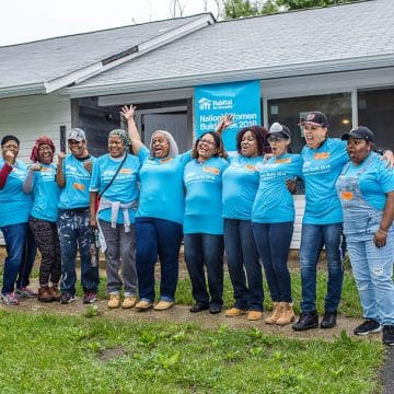 TSHICC's Women Help Habitat For Humanity Build Homes For Families