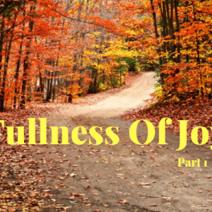 Fullness Of Joy -Part 1