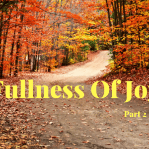 Fullness Of Joy- Part 2