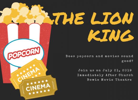tshicc movie event  u0026quot lion king u0026quot